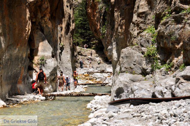 Kreta wandelen door de Samariakloof